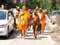 Maharaj ji Vihar ke liye jaate hua